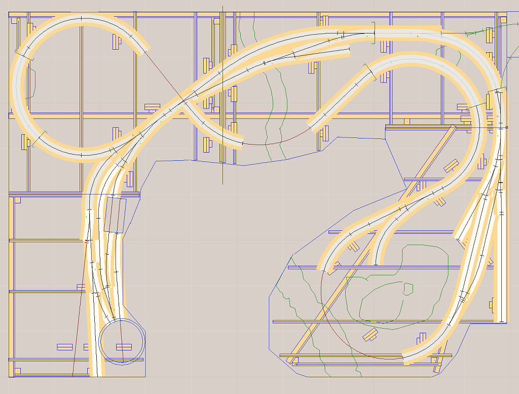 train layout benchwork