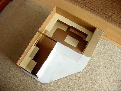 Initial shelf layout idea