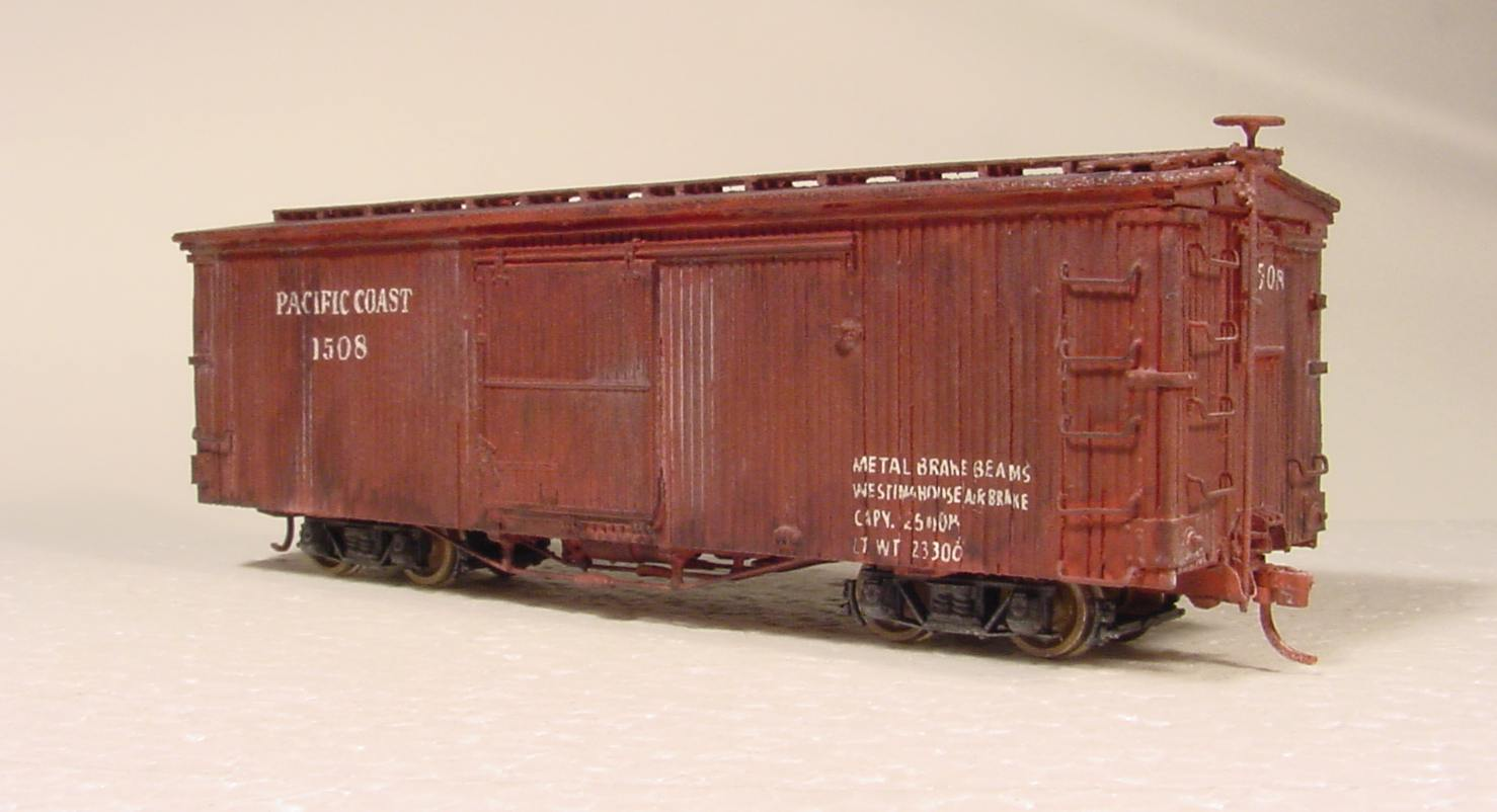 Old Wooden Rail Cars